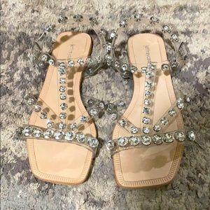Jeffrey Campbell Amaryl sandals. Size 6